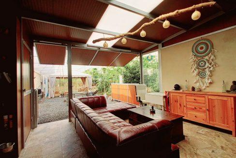 Finca con Casa y Huerta Tropical